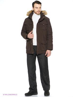 Куртка CMP. Цвет: коричневый