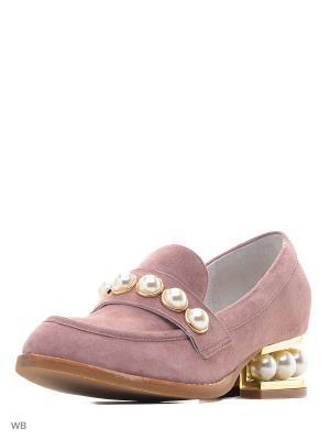 Туфли JUST COUTURE. Цвет: розовый