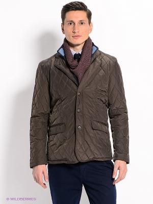 Куртка Men of all nations. Цвет: коричневый