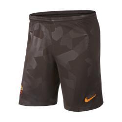 Мужские футбольные шорты 2017/18 A.S. Roma Stadium Third Nike. Цвет: коричневый