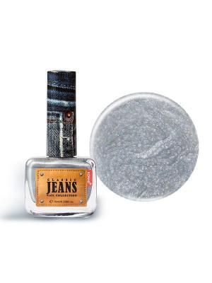 Текстурный лак 05 - Smoke Blue Jeans Konad. Цвет: оранжевый