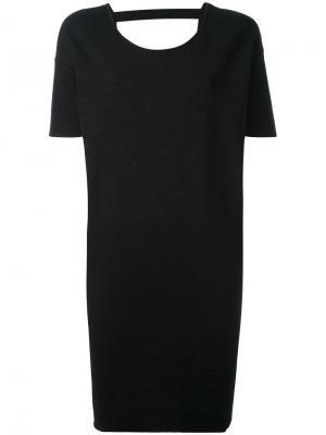 Платье-футболка Thom Krom. Цвет: чёрный