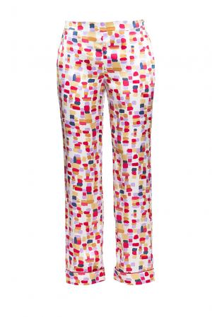 Damore Пижамные брюки из шелка CO-189660 D'amore. Цвет: красный