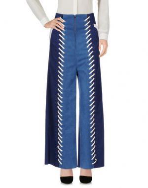 Повседневные брюки MAME. Цвет: синий