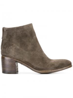 Ботинки по щиколотку Tessa Alberto Fasciani. Цвет: коричневый