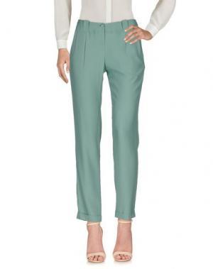 Повседневные брюки LORENA ANTONIAZZI. Цвет: зеленый