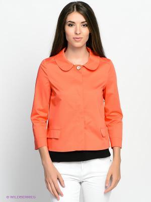 Жакет Motivi. Цвет: оранжевый