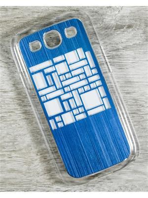 Чехол для телефона Samsung Galaxy S3 GT-I9300/GT-I9300I MACAR. Цвет: синий