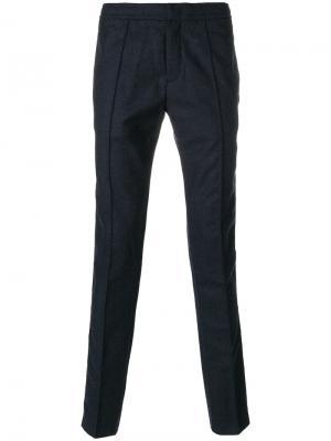 Классические брюки Z Zegna. Цвет: синий