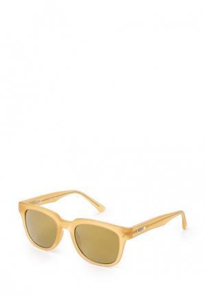Очки солнцезащитные Roxy. Цвет: бежевый