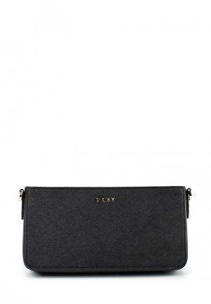 Клатч DKNY. Цвет: черный