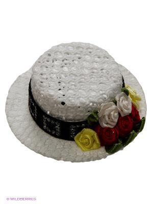 Шляпка Doggy Style. Цвет: белый