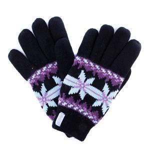 Перчатки женские  Maggie Glove Black Dakine. Цвет: черный