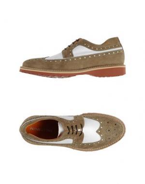 Обувь на шнурках PROJECT ONE. Цвет: хаки