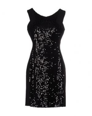 Короткое платье MY SIS. Цвет: черный