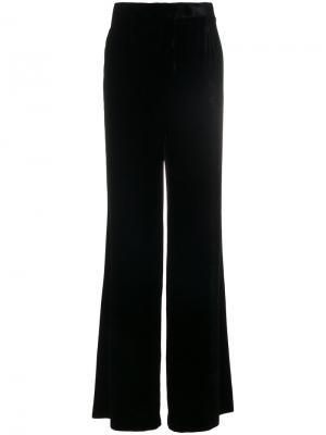 Классические брюки клеш Alberta Ferretti. Цвет: чёрный