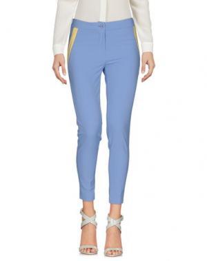 Повседневные брюки BOUTIQUE de la FEMME. Цвет: небесно-голубой