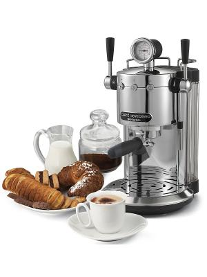 Кофеварка эспрессо 1387 Novecento, 1150 Вт ariete. Цвет: серебристый