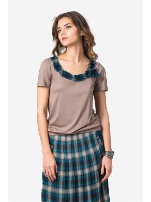 Блузка HELMIDGE. Цвет: темно-бежевый