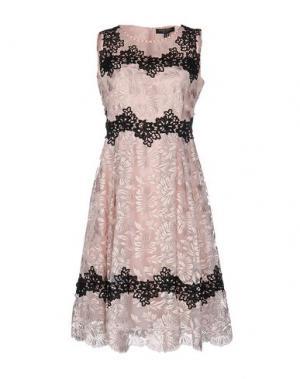 Платье до колена CHIARA D'ESTE. Цвет: розовый