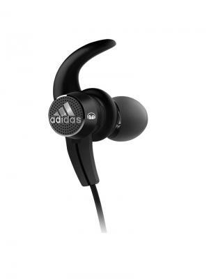 Наушники с микрофоном Monster Adidas Sport Adistar Bluetooth (Black) In-Ear Headphones. Цвет: черный