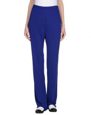 Повседневные брюки DOMINA. Цвет: ярко-синий