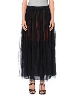 Длинная юбка SOUVENIR. Цвет: черный