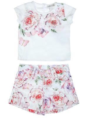 Костюм Baby Rose. Цвет: розовый