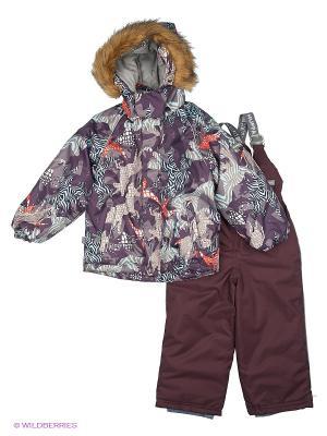 Комплект: куртка + брюки HUPPA. Цвет: салатовый