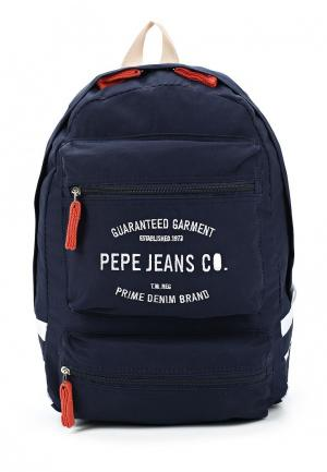 Рюкзак Pepe Jeans. Цвет: синий