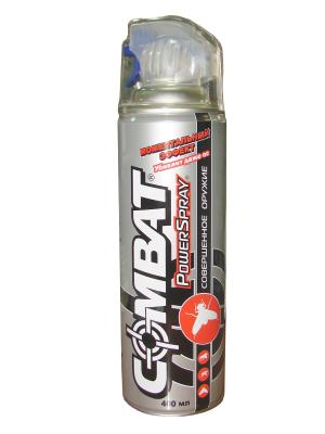 Combat PowerSpray инсектицид 400 ml. Цвет: серый