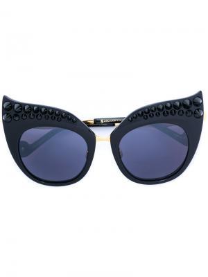 Солнцезащитные очки Black Moon Anna Karin Karlsson. Цвет: чёрный