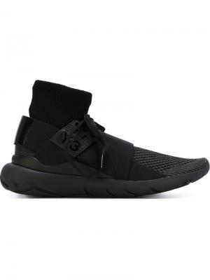 Кроссовки с носком Y-3. Цвет: чёрный