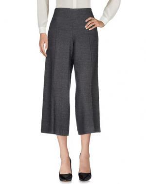 Повседневные брюки NIU'. Цвет: свинцово-серый