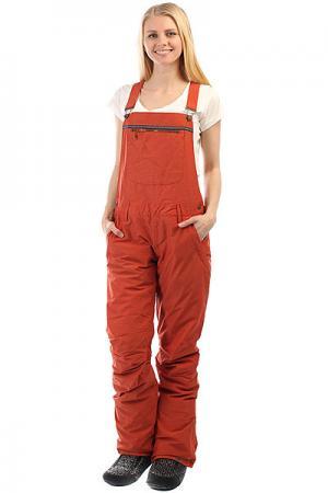Штаны сноубордические женские  Non Stop Rooibos Tea Roxy. Цвет: красный