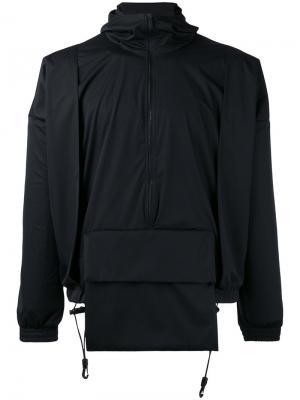 Куртка с передним карманом Cottweiler. Цвет: чёрный