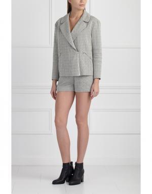 Куртка MoS. Цвет: серый