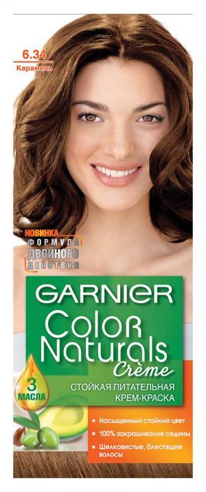 Перманентное окрашивание Garnier 6.34 Карамель. Цвет: 6.34 карамель