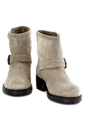 Ботинки Elena. Цвет: бежевый