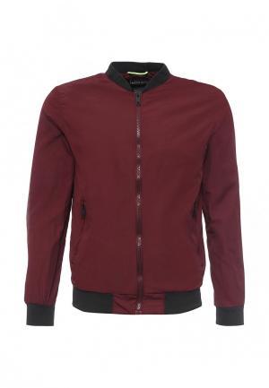 Куртка Alcott. Цвет: бордовый