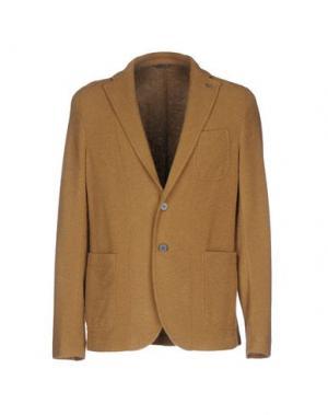Пиджак MANUEL RITZ. Цвет: верблюжий