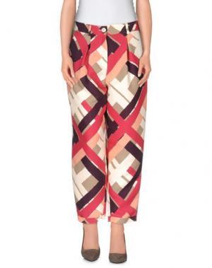 Повседневные брюки MAISON LAVINIATURRA. Цвет: бежевый