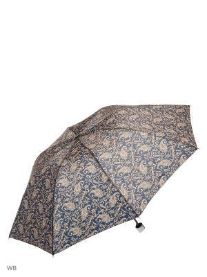 Зонт Modis. Цвет: темно-коричневый, серый, хаки