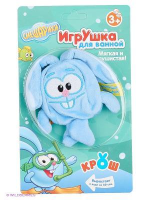 Игрушка для ванной Крош Смешарики. Цвет: голубой