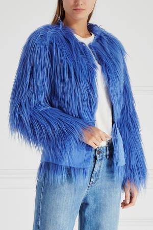 Жакет Elisabetta Franchi. Цвет: голубой