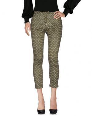 Повседневные брюки W!K!. Цвет: зеленый