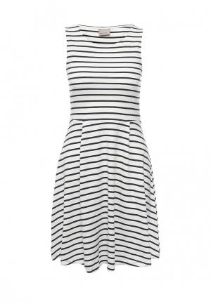 Платье Vero Moda. Цвет: белый