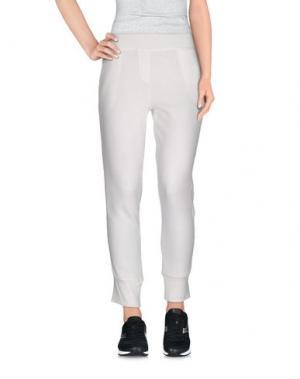Повседневные брюки 19.70 NINETEEN SEVENTY. Цвет: белый