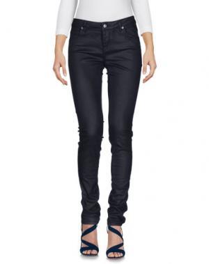 Джинсовые брюки SUPERTRASH. Цвет: темно-синий