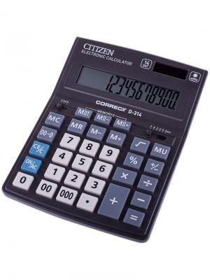 Калькулятор научный SR-135N 10 разрядов, 128 функций, пит. от батарейки., 141*78*12мм, черный CITIZEN. Цвет: черный